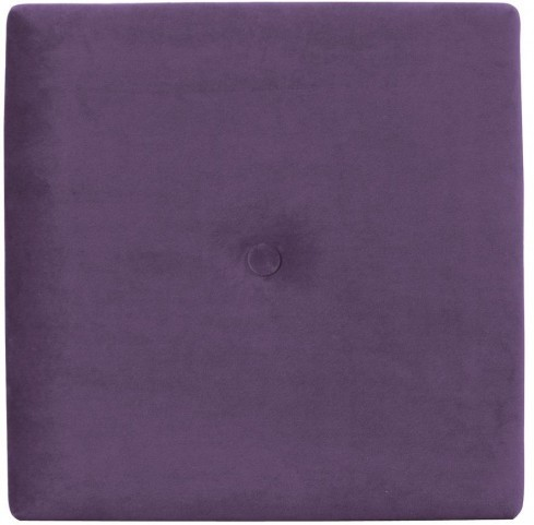 """Bella Eggplant 1"""" Wall Pixel I with Button"""