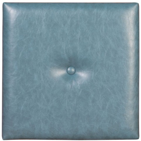"""Bucktown Turquoise 1"""" Wall Pixel I With Button"""