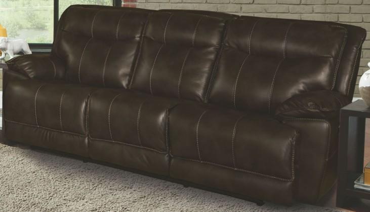 Phoenix Truffle Dual Power Reclining Sofa