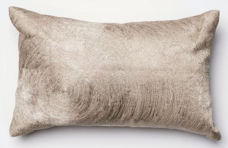 Fiona Beige Rectangular Pillow