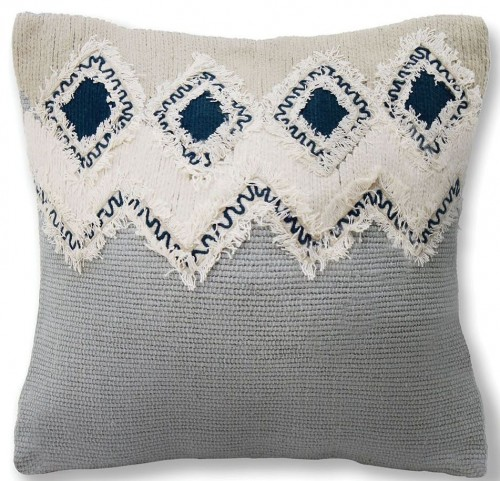 "Crosbie Gray 18"" Pillow Set of 6"