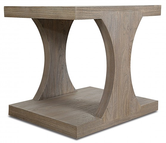 Palmer Driftwood Rectangular End Table