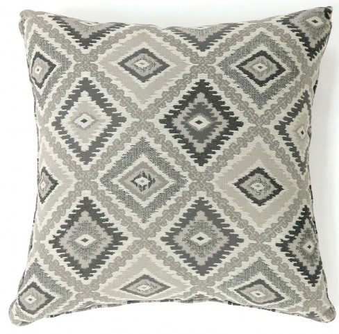 "Deamund Gray 22"" Pillow Set of 2"