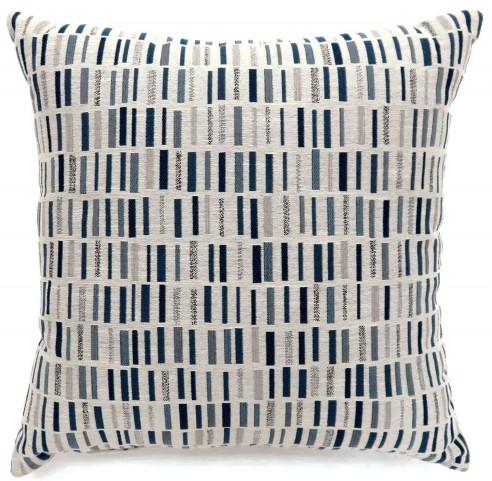 "Pianno Blue 22"" Pillow Set of 2"