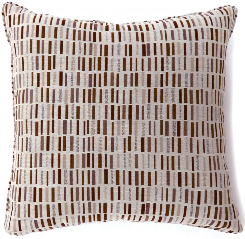 "Pianno Brown 18"" Pillow Set of 2"