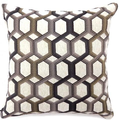"Comney Gray 18"" Pillow Set of 2"