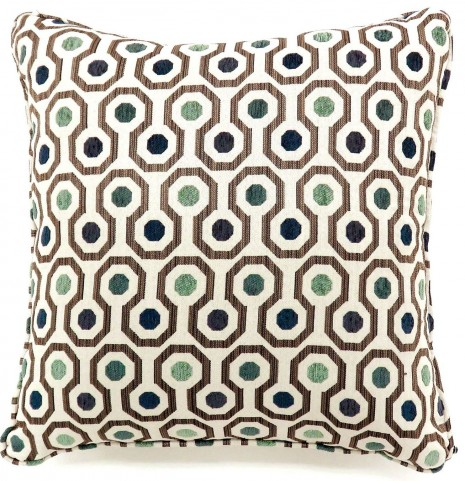 "Dott Gray 18"" Pillow Set of 2"