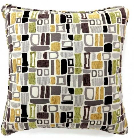 "Bloc Multi 22"" Pillow Set of 2"