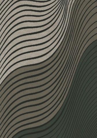 Platinum Purple/Beige Waves Large Rug