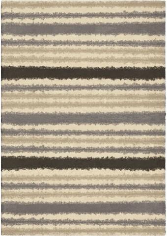 Orian Rugs Plush Stripes Petley Ivory Area Small Rug