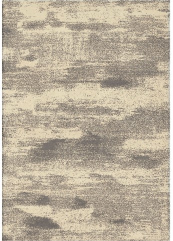 Modern Grace Plush Abstract Fluffy Clouds Gray Large Area Rug