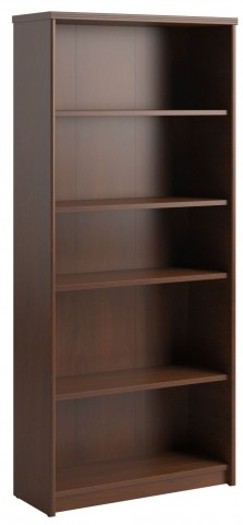 "Envoy Hansen Cherry 30""W 5-Shelf Bookcase"