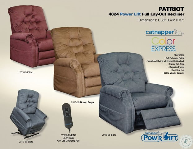 Marvelous Patriot Vino Power Lift Recliner Bralicious Painted Fabric Chair Ideas Braliciousco