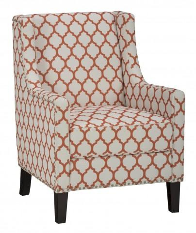 Jeanie Persimmon Club Chair