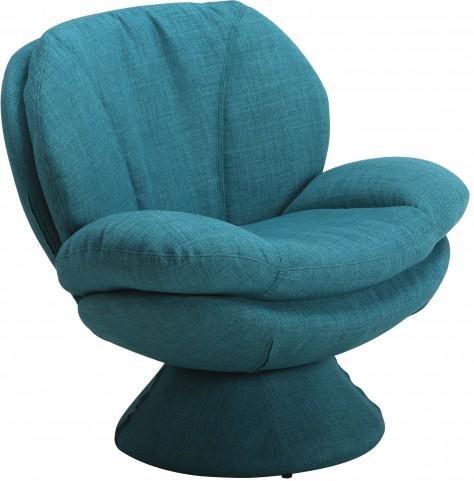 Comfort Rio Turquoise Fabric Leisure Chair