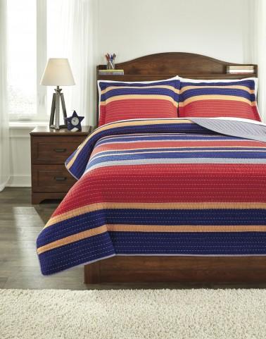 Damond Multi Full Quilt Set