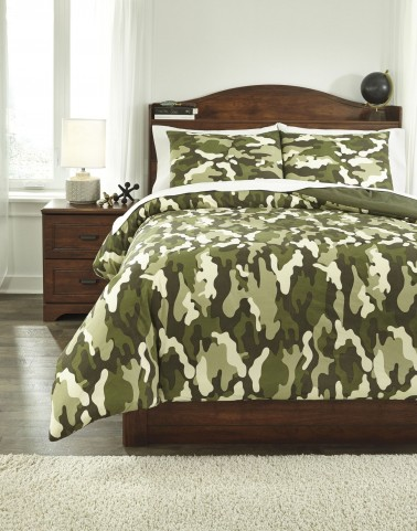 Dagon Camouflage Full Comforter Set