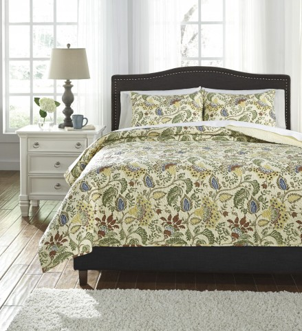 Damyan Multi Queen Coverlet Set