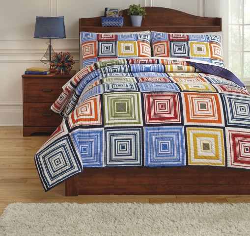 Tazzoni Multi Twin Coverlet Set