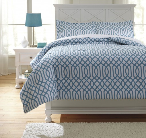 Loomis Aqua Full Comforter Set