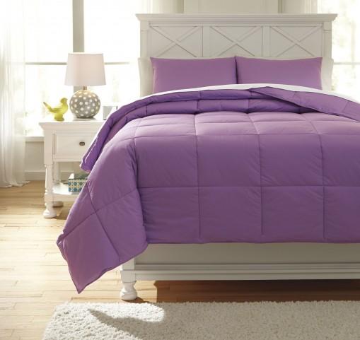 Plainfield Lavender Twin Comforter Set