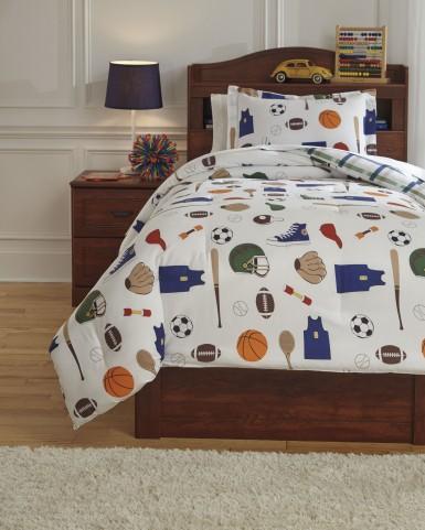 Varias Multi Twin Comforter Set