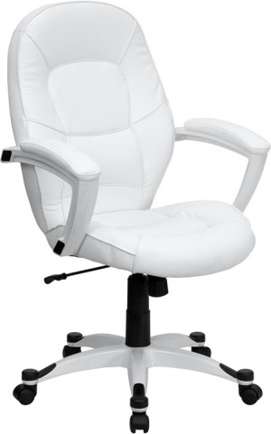 Eco-Friendly White Executive Office Chair