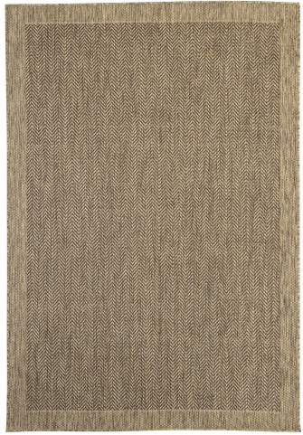 Tacy Beige and Brown Medium Rug