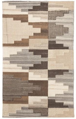 Watnick Brown and Gray Medium Rug