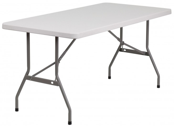 """30"""" Blow Molded Plastic Folding Table"""