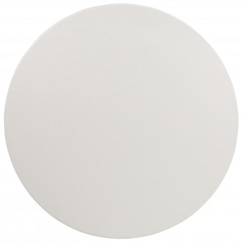 "RB-60R-GG 60"" Round Granite White Plastic Folding Table"