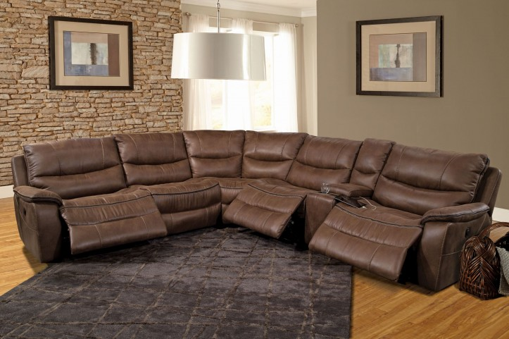 Remus Stone Reclining Sectional