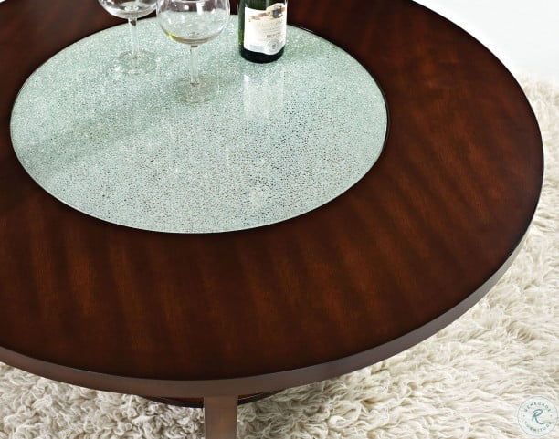 Rafael Merlot Cherry Occasional Table Set