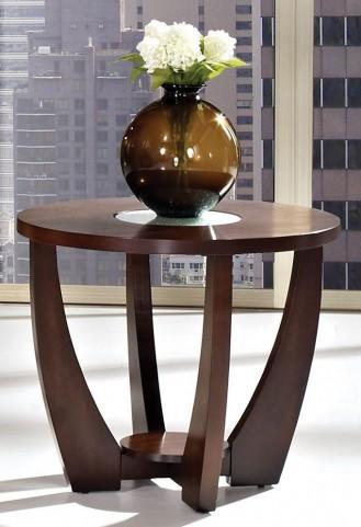 Rafael Merlot Cherry End Table