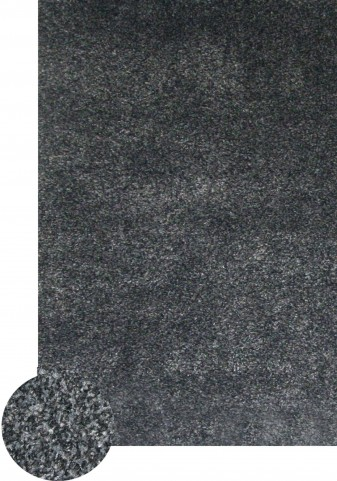 Wolver Charcoal Area Rug