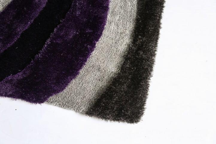 Winnipeg Gray and Purple Rug