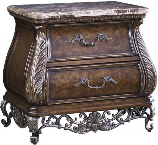 Birkhaven Brown Wood Nightstand