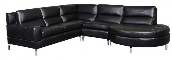 Riley Black Sectional