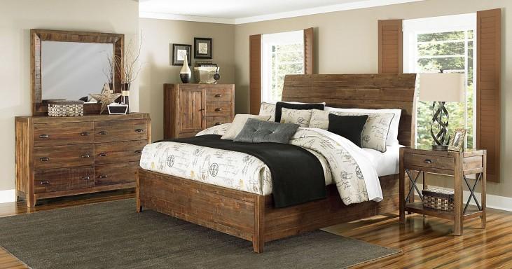 River Ridge Island Bedroom Set