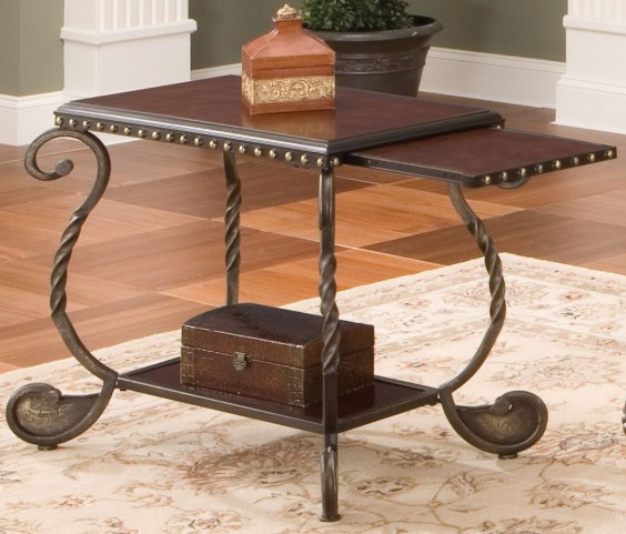 Rosemont Medium Cherry Chairside End Table