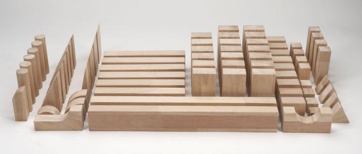 Beginner Natural Wood Block Set
