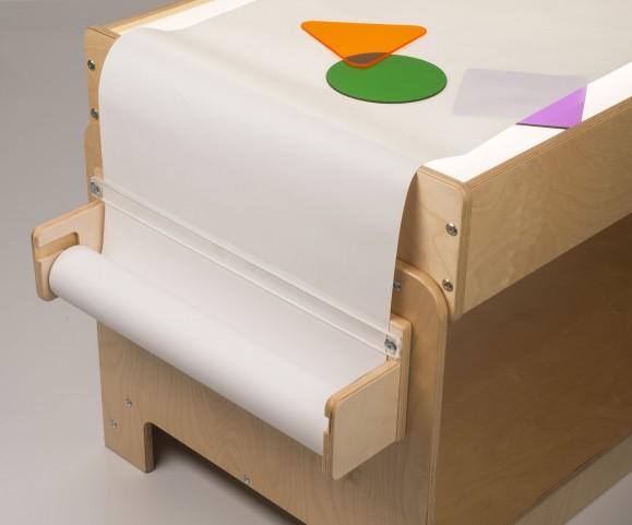 Light Table Paper Roll Holder