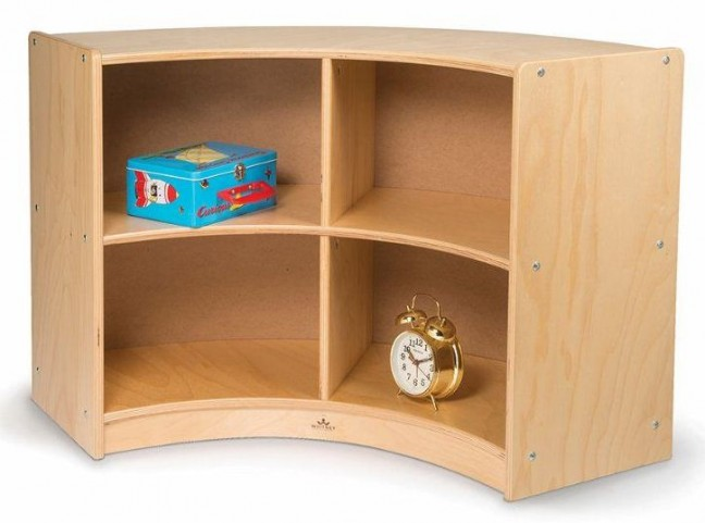 Back Curve Out Storage Cabinet