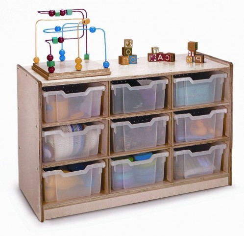 9 Tray Storage Cabinet