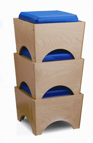 Set of 3 Stackable Seats