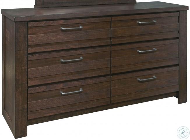 Ruff Hewn Brown Drawer Dresser