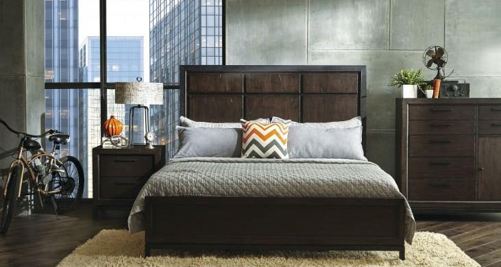 Fulton St. Brown Panel Bedroom Set
