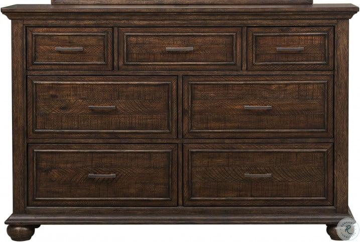 Chatham Park Brown Drawer Dresser