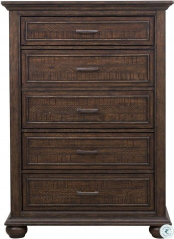 Chatham Park Brown Panel Storage Bedroom Set