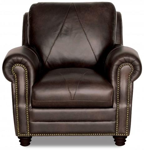 Solomon Italian Leather Chair